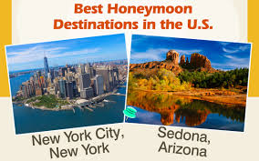 best destinations in the u s for an idyllic and honeymoon