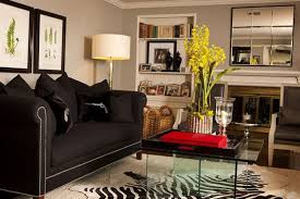 Black Furniture Living Room How To Decorate A Living Room Using Black Furniture Inside Idea 2