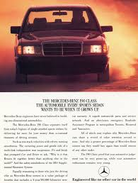 mercedes ads 1988 mercedes 190e ad classic cars today online