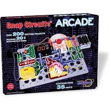 snap circuits lights electronics discovery kit snap circuits arcade electronics discovery kit tech 101 kids