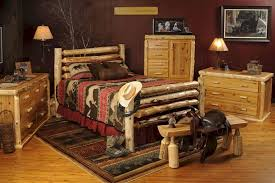 Cowboys Bedroom Set by Western Bedroom Furniture Hand Crafted Beautiful Western