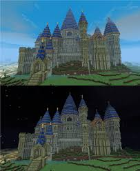 minecraft halloween city minecraft castles minecraft 19th century castle vitruvian city