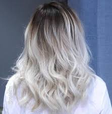 how to blend in gray roots of black hair with highlig 40 hair сolor ideas with white and platinum blonde hair