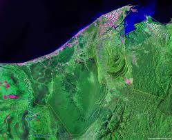 South America Satellite Map by Brunei Map And Satellite Image