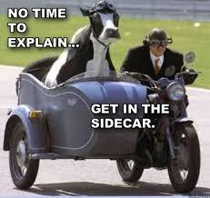 No Time To Explain Meme - hilarious i have no time to explain posters 12 pics izismile com