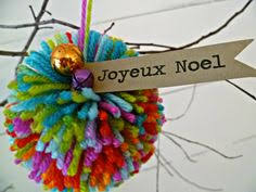 pom pom decorations yarn dolls