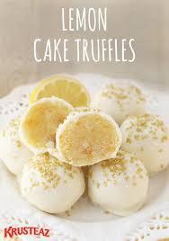 best 25 lemon truffles ideas on pinterest easy peanut butter