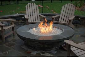 Firepit Gas Propane Gas Pit Amepac Furniture