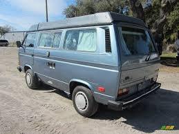 volkswagen vanagon 1987 1987 dove blue metallic volkswagen vanagon gl camper 60753148