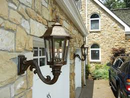 outdoor gas lantern wall light photo gallery american gas l works