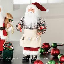 Raz 2013 Forest Friends Decora - santa with tools raz holidays