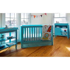Convertible Crib Walmart Lolly Me Color Me 3 In 1 Convertible Crib Blue Walmart