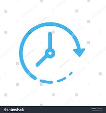 clock vector icon simple clock vector stock vector 714296503