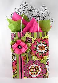 present tissue paper doodle garden s day gift wrap design