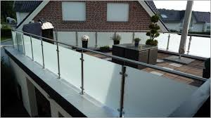 glasverkleidung balkon edelstahlgeländer mit glas - Balkon Edelstahlgel Nder