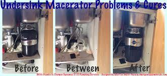 Under Sink Food Macerator Insinkerator Disposal Includes History - Kitchen sink macerator