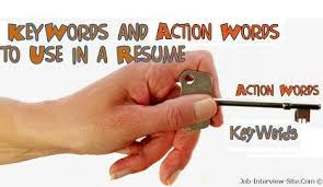 List Of Resume Action Verbs by Using Action Verbs U0026 Keywords