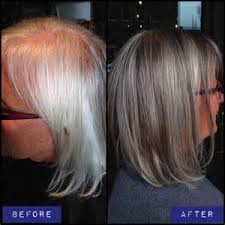 doing low lights on gray hair blending gray hair with lowlights bing images my style