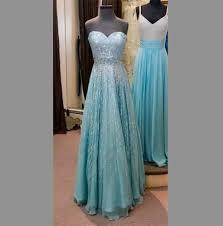 dress blue prom dress frozen blouse elsa gown long