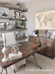 Rustic Office Decor Ideas World Market Furniture Home Office Decor Desk Side Table Diy