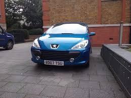 blue peugeot for sale for sale peugeot 307 x line 2007 1 4 16v blue a c thatcham 2