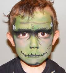 Kids Mummy Halloween Costume Face Painting Frankenstein Frankenstein Costumes Halloween