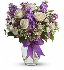 Spring Flower Bouquets - beautiful spring flowers in a vase white roses and spray roses