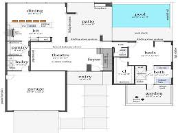 Second Floor Plans Architecture U0026 Plan Modern Home Design Floor Plans Interior