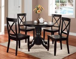 wood round dining table for 4 gallery with expandable tables small