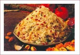 recette cuisine iranienne riz au safran poulet zeste d orange et pistache shirin polo