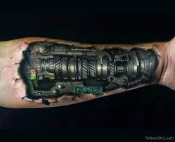 biomechanical tattoo design on wrist tattoo designs tattoo pictures
