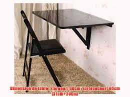 table de cuisine rabattable murale table murale rabattable en bois plateaux plateau pliable 80