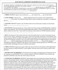 rent to own house contract form free texas residential lease