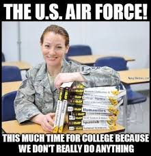 Airforce Memes - air force has so much free time navy memes clean mandatory fun