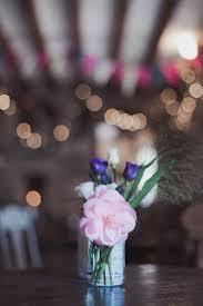 Trevor Barn Wedding Beautiful Bunting And Fairy Lights For A Vintage Wedding At Trevor