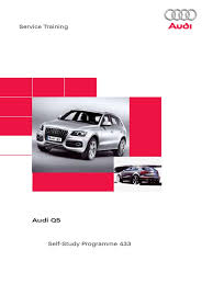 Audi Q5 62 Plate - ssp433 audi q5 headlamp airbag