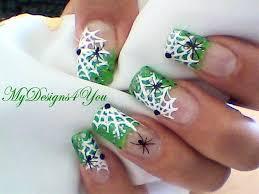 halloween spiderwebs nail art design nail art gallery