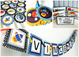Centerpieces For Kids by Outer Space Centerpieces For Kids Birthday Adore By Nat