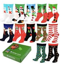 christmas socks women s 12 days of christmas socks set for just 21 99 money