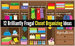 ideas budget closet click pic for 36 diy closet organizer ideas 10