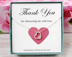 shower thank you gifts shower hostess gift etsy