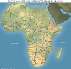 Physical Africa Map by Africa U0027s New Map