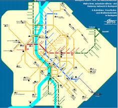Budapest Metro Map by Venue Bfw