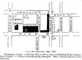 great fire of toronto 1849 wikipedia