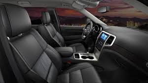 Grand Cherokee Interior Colors Jeep Grand Cherokee Altitude Decked Out In Leather Premium Capri