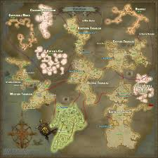 Fantasy World Maps by Nakomaru Hanekawa Blog Entry