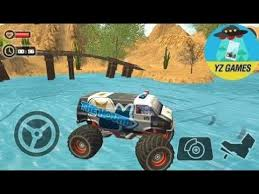 road monster truck derby monster hound truck android