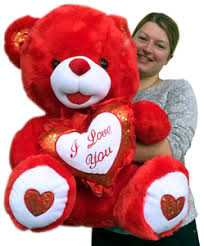 big valentines day occasions valentines day valentines day teddy bears