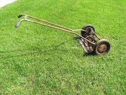 antique reel lawn mower chentodayinfo