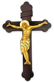 wooden wall crosses wooden wall cross with serigraph corpus crucifix at holy